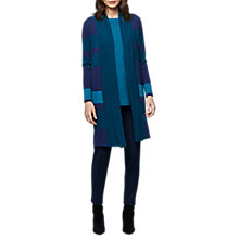 Buy East Wool Shawl Colourblock Cardigan, Multi Online at johnlewis.com