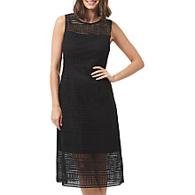 Buy Sugarhill Boutique Nadia Geo Lace Dress, Black Online at johnlewis.com