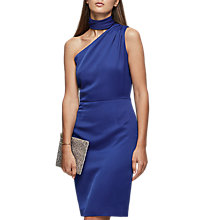 Buy Reiss Ennie One Shoulder Fitted Dress Online at johnlewis.com