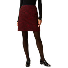 Buy Hobbs Florrie Skirt, Red/Black Online at johnlewis.com