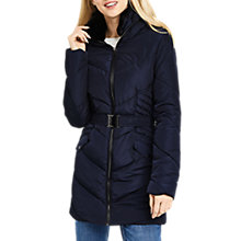 Buy Oasis Cairnwell Long Padded Jacket Online at johnlewis.com