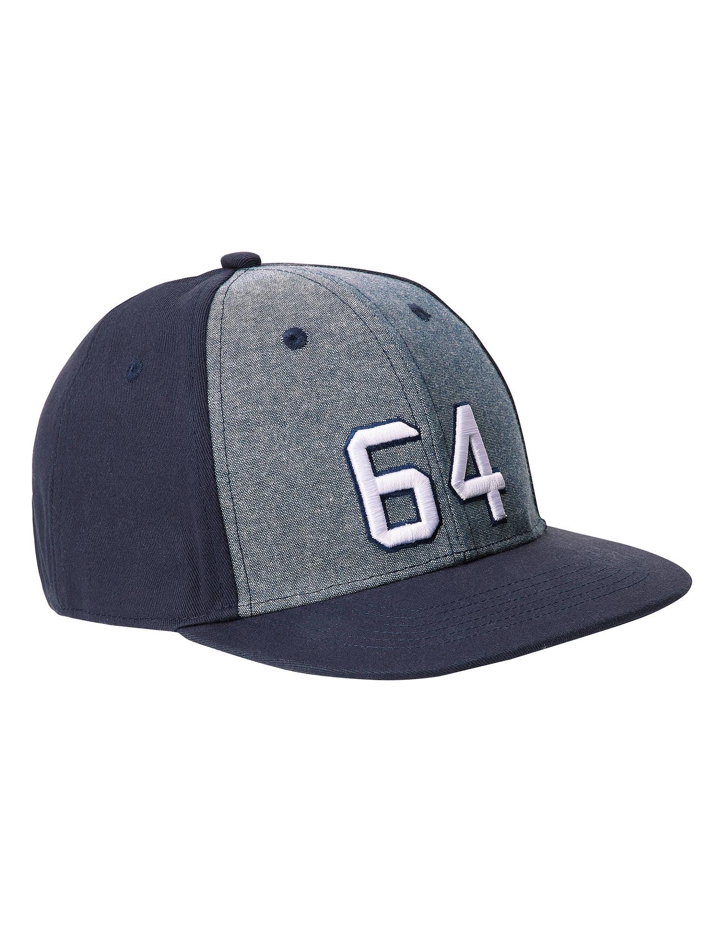 b2e46f5ba98 BuyJohn Lewis   Partners Children s Chambray Baseball Cap