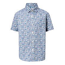 Buy John Lewis Heirloom Collection Boys' Floral Shirt, Blue Online at johnlewis.com