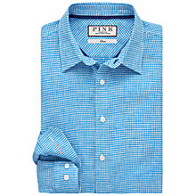 Buy Thomas Pink Arnor Shirt, Blue/White Online at johnlewis.com