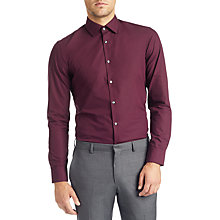 Buy HUGO BOSS CJenno Shirt, Wine Online at johnlewis.com