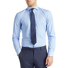 Buy HUGO by Hugo Boss C-Jason Check Slim Fit Shirt, Pastel Blue Online at johnlewis.com