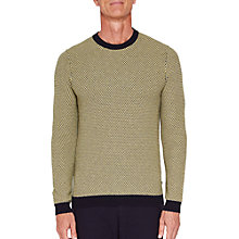 Buy Ted Baker T for Tall Coftitt Crew Neckline Jumper, Lime Online at johnlewis.com