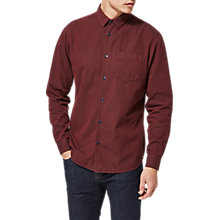 Buy Selected Homme Shdonedante Long Sleeve Shirt, Tawny Port Online at johnlewis.com
