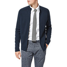 Buy Selected Homme Shhphilip Zip Cardigan, Dark Sapphire Online at johnlewis.com