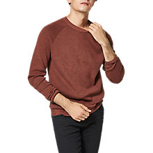 Buy Selected Homme Ross Sequoia Jumper, Sequoia/Bitter Chocolate Online at johnlewis.com