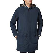Buy Selected Homme Victor Mac Coat, Dark Sapphire Online at johnlewis.com