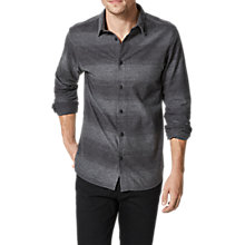 Buy Selected Homme Tworobin Shirt, Grey Online at johnlewis.com