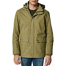 Buy Selected Homme Tim Cotton Jacket, Olive Branch Online at johnlewis.com