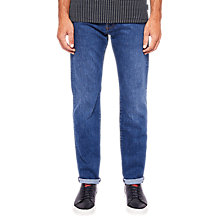 Buy Ted Baker Newbie Jeans, Mid Wash Online at johnlewis.com
