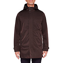 Buy Ted Baker T for Tall Long Stack Mac Coat, Dark Red Online at johnlewis.com