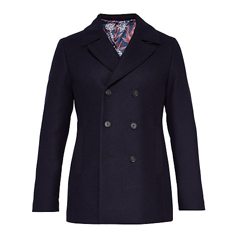 Buy Ted Baker T for Tall Zachtt Coat, Navy Online at johnlewis.com