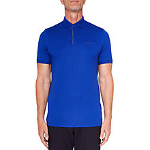 Buy Ted Baker T for Tall Witnatt Polo Shirt, Bright Blue Online at johnlewis.com