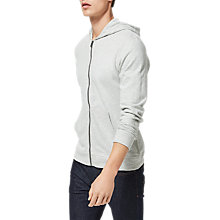 Buy Selected Homme Shnboris Cotton Zip Through Hoodie Online at johnlewis.com