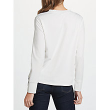 Buy Selected Femme Elma Frill Top, Snow White Online at johnlewis.com
