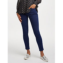 Buy Lee Scarlett High Waist Skinny Jeans, Fresh Mid Worn Online at johnlewis.com