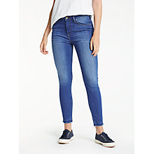 Buy Lee Scarlett High Waist Skinny Jeans, Worn Out Misfit Online at johnlewis.com