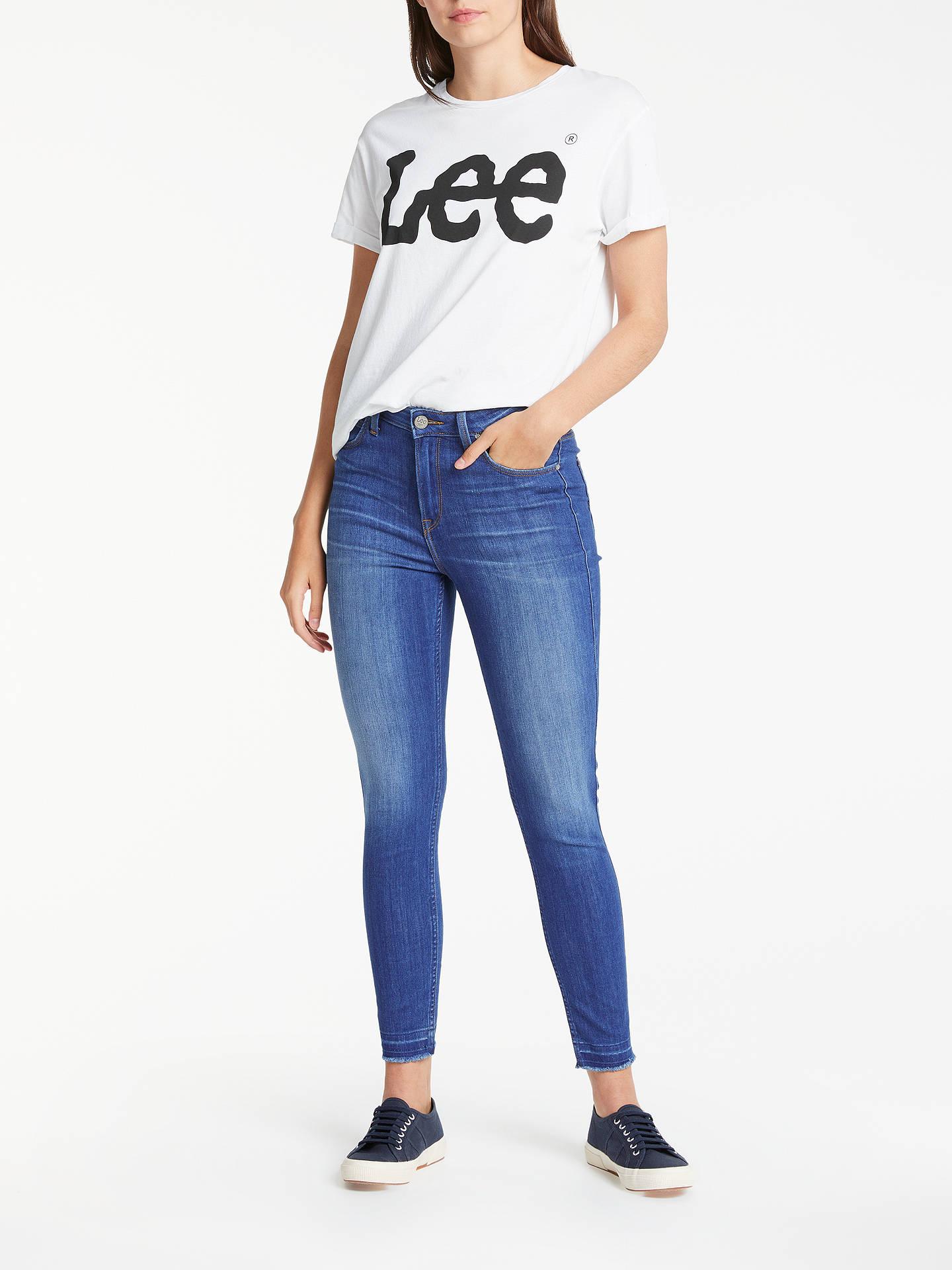 19025c2a ... Buy Lee Scarlett High Waist Skinny Jeans, Worn Out Misfit, W27/L31  Online ...