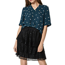 Buy Selected Femme Catia Print Top, Reflecting Pond Online at johnlewis.com