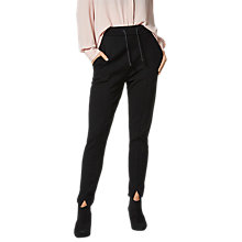 Buy Selected Femme Sadie Trousers, Black Online at johnlewis.com
