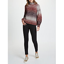 Buy Selected Femme Glitz Turtleneck Jumper, Syrah Online at johnlewis.com