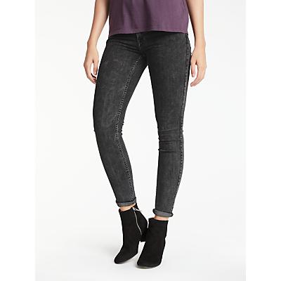Lee Scarlett Regular Waist Skinny Jeans, After Dark