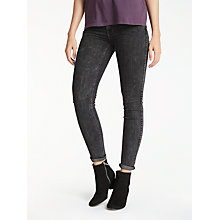 Buy Lee Scarlett Regular Waist Skinny Jeans, After Dark Online at johnlewis.com