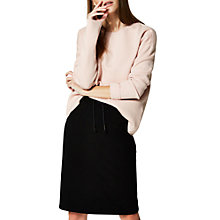 Buy Selected Femme Minnie Long Sleeve Jumper, Sepia Rose Online at johnlewis.com