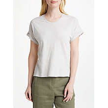 Buy John Lewis Drop Sleeve Cotton Slub T-Shirt Online at johnlewis.com