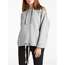 Buy Kin by John Lewis Utility Sweatshirt, Grey Online at johnlewis.com