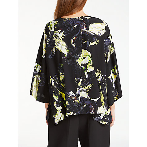 Buy Kin by John Lewis Colour Block Oversized Top, Black Online at johnlewis.com