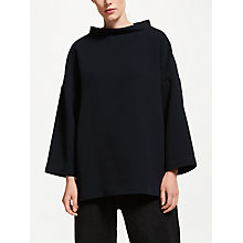 Buy Kin by John Lewis Fisherman Twill Top, Navy Online at johnlewis.com
