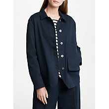 Buy Kin by John Lewis Japanese Workwear Jacket, Navy Online at johnlewis.com