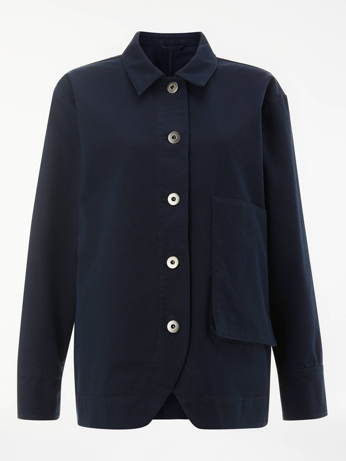 BuyKin Japanese Workwear Jacket, Navy, 8 Online at johnlewis.com
