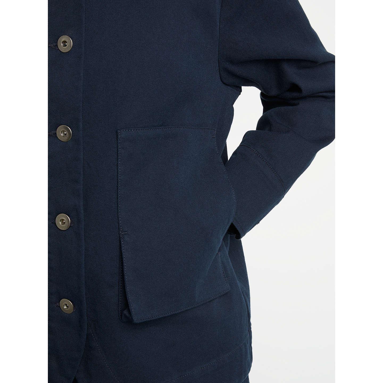 Kin by John Lewis Japanese Workwear Jacket, Navy at John Lewis
