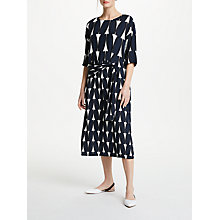 Buy Kin by John Lewis Double Sash Dress, Multi Online at johnlewis.com