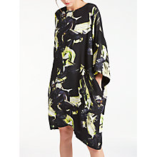 Buy Kin by John Lewis Colour Block Oversized Dress, Black Online at johnlewis.com