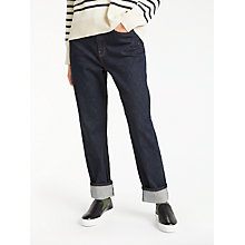 Buy Kin by John Lewis Straight Leg Jeans, Blue Online at johnlewis.com
