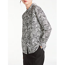 Buy Kin by John Lewis Linear Print Shirt, Multi Online at johnlewis.com