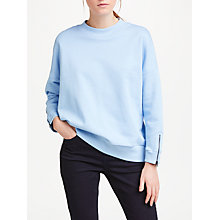 Buy Kin by John Lewis Zip Detail Sweatshirt Online at johnlewis.com