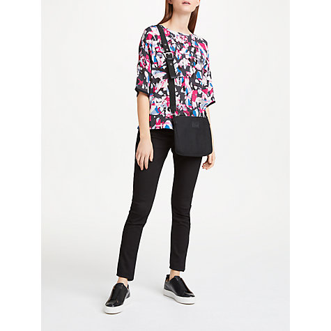Buy Kin by John Lewis Camouflaged Maze Top, Multi Online at johnlewis.com