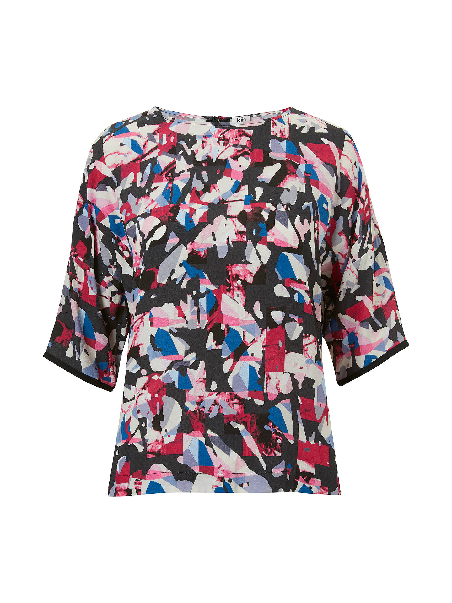 BuyKin Camouflaged Maze Top, Multi, 8 Online at johnlewis.com