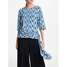 Buy Kin by John Lewis Sash Shell Top, Multi Online at johnlewis.com