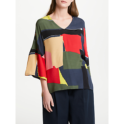 Kin by John Lewis Boxy T-Shirt, Multi