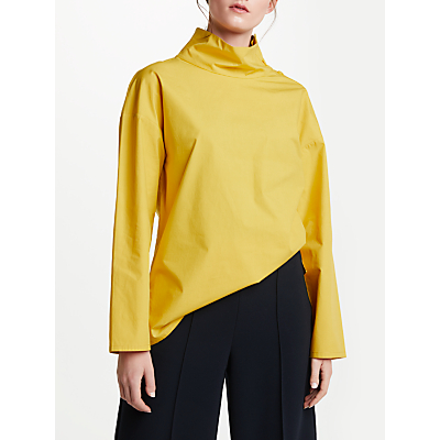 Kin by John Lewis Button Collar Top