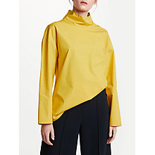 Buy Kin by John Lewis Button Collar Top Online at johnlewis.com